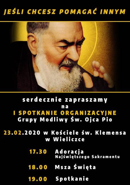 Inauguracja Wspólnoty Św. O. Pio